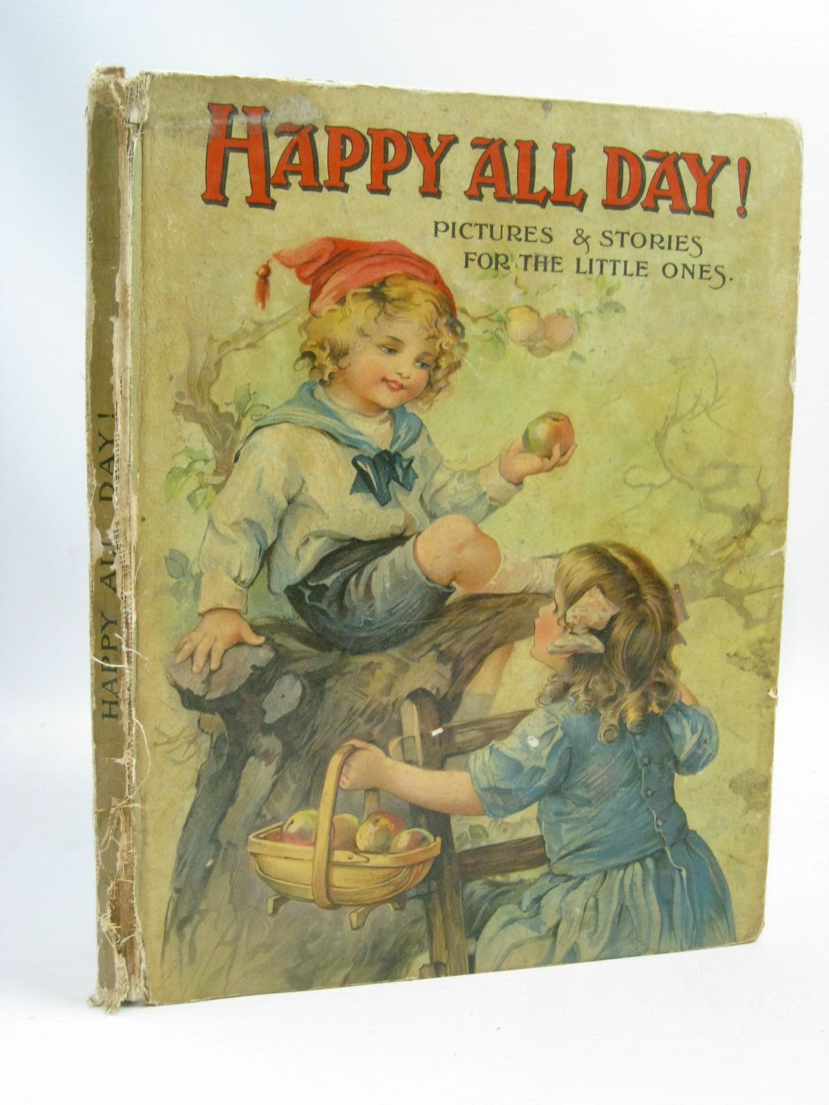 Photo of HAPPY ALL DAY! written by Braine, Sheila E.<br />Moore, Dorothea<br />Inchfawn, Fay<br />et al, illustrated by Aris, Ernest A.<br />Tarrant, Margaret<br />Neilson, Harry B.<br />et al., published by S.W. Partridge & Co. Ltd. (STOCK CODE: 1505810)  for sale by Stella & Rose's Books