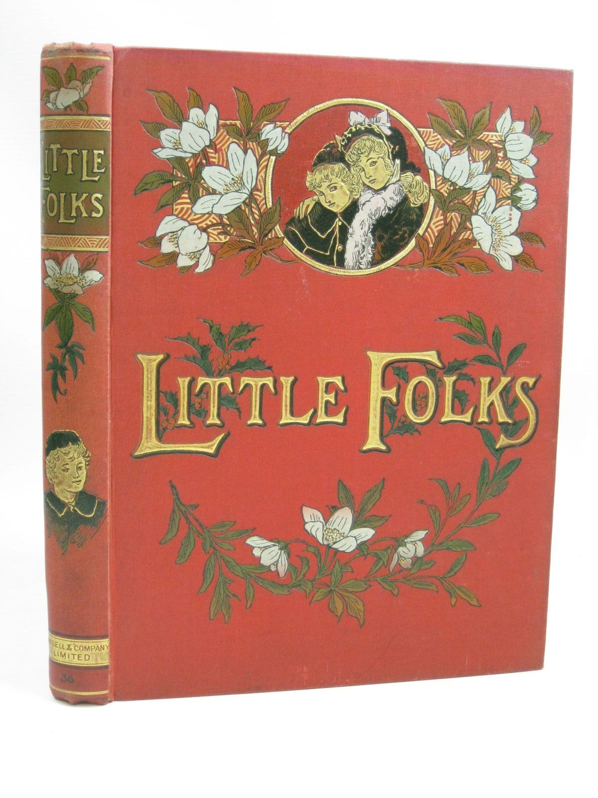 Photo of LITTLE FOLKS VOL 36 published by Cassell & Company Limited (STOCK CODE: 1505822)  for sale by Stella & Rose's Books