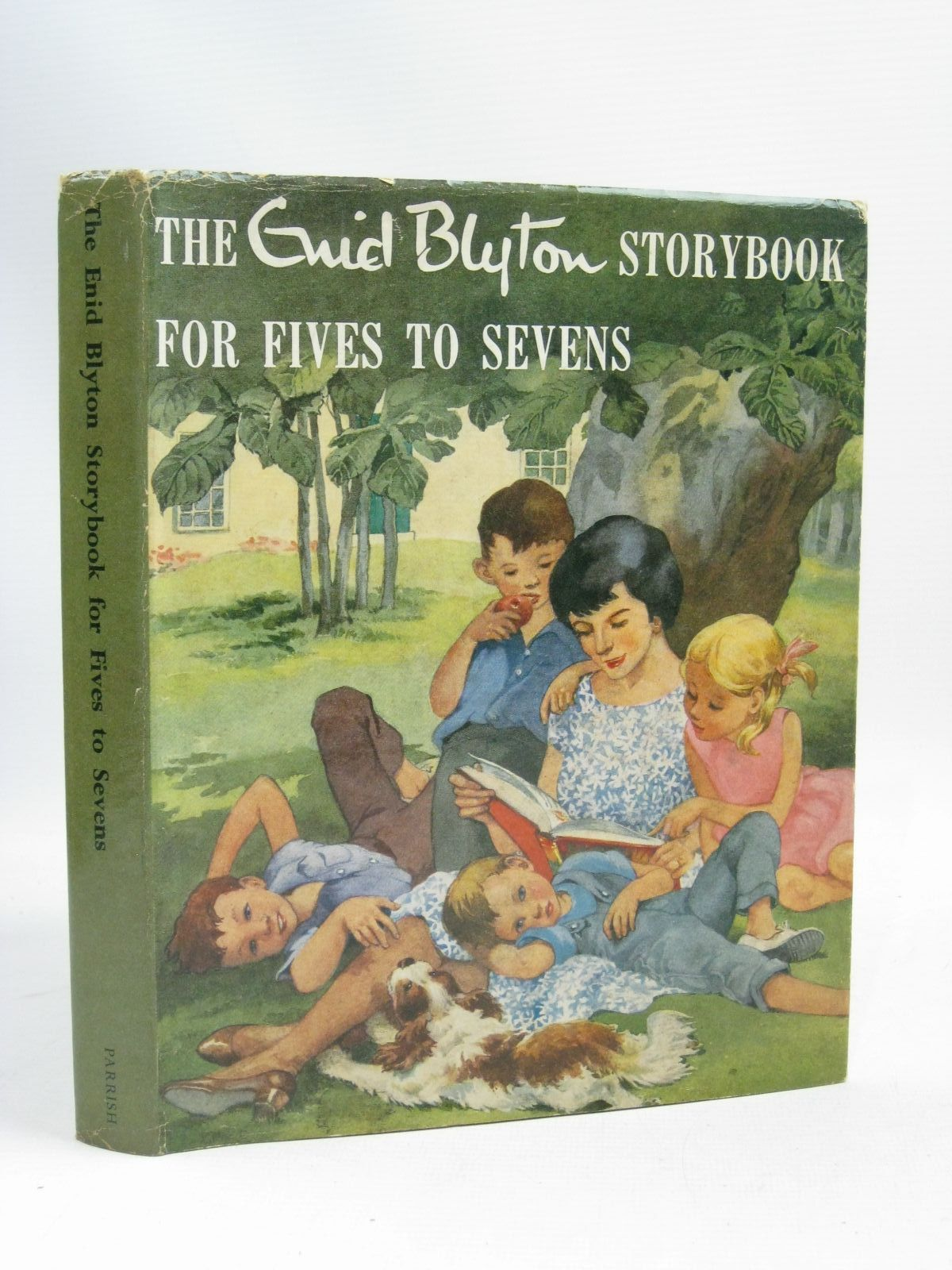 Photo of THE ENID BLYTON STORYBOOK FOR FIVES TO SEVENS written by Blyton, Enid illustrated by Hall, Dorothy<br />Shelton, Grace published by Max Parrish (STOCK CODE: 1505829)  for sale by Stella & Rose's Books