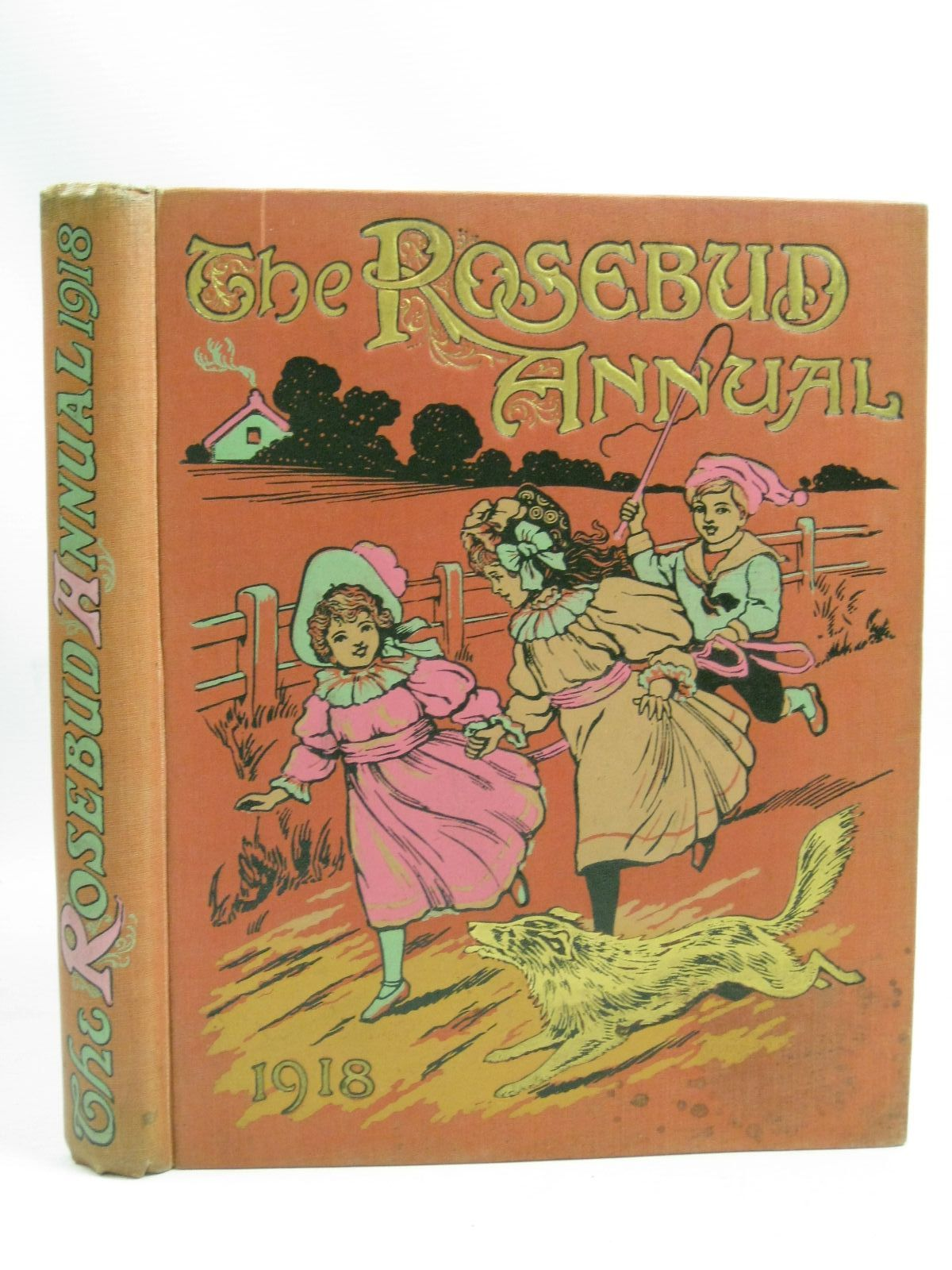 Photo of THE ROSEBUD ANNUAL 1918 illustrated by Wain, Louis<br />Blomfield, E.<br />Sidney, G<br />Hobbs, Geo. E.<br />Neilson, Harry B.<br />et al., published by James Clarke & Co. (STOCK CODE: 1505842)  for sale by Stella & Rose's Books