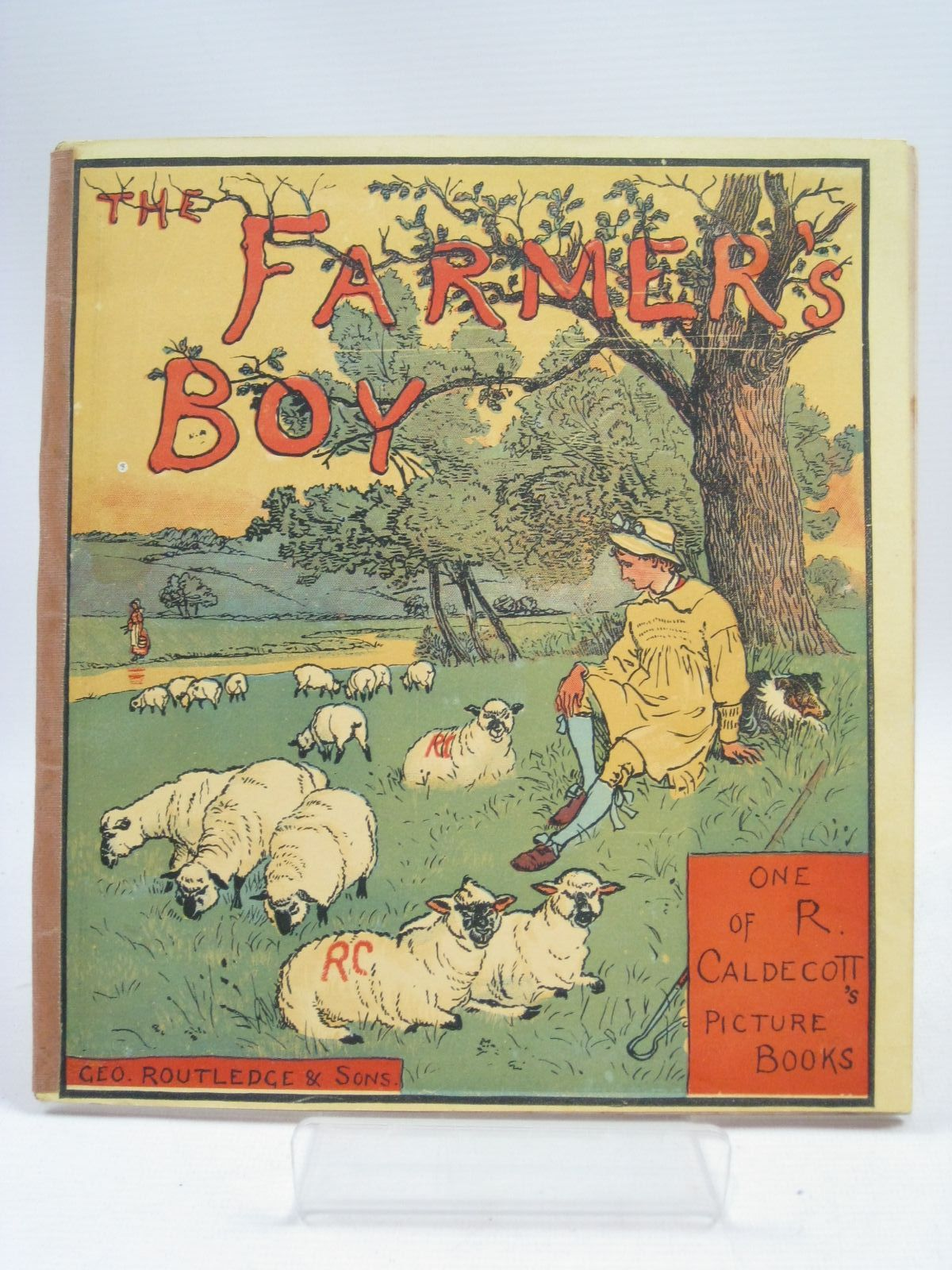 Photo of THE FARMER'S BOY illustrated by Caldecott, Randolph published by George Routledge & Sons (STOCK CODE: 1505849)  for sale by Stella & Rose's Books