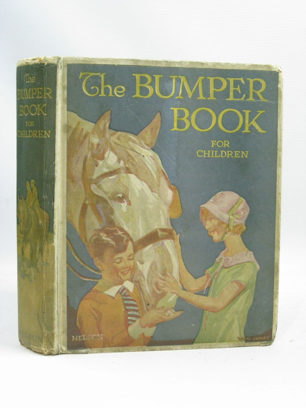 Photo of THE BUMPER BOOK FOR CHILDREN written by Newton, Dora<br />Smith, Dora Percy<br />Chandler, Olive<br />Duffin, E.S.<br />Royce, Marjory<br />et al, illustrated by Cowell, Cyril<br />Adams, Frank<br />Tempest, Margaret<br />Cobb, Ruth<br />Cowham, Hilda<br />et al., published by Thomas Nelson and Sons Ltd. (STOCK CODE: 1505876)  for sale by Stella & Rose's Books