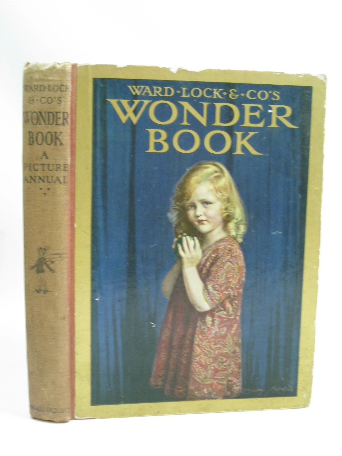Photo of WARD LOCK &AMP; CO'S WONDER BOOK 1923 written by Golding, Harry<br />Wynne, May<br />Rutley, Cecily M.<br />Inchfawn, Fay<br />et al, illustrated by Tarrant, Margaret<br />Anderson, Anne<br />Aris, Ernest A.<br />et al., published by Ward, Lock & Co. Limited (STOCK CODE: 1506007)  for sale by Stella & Rose's Books