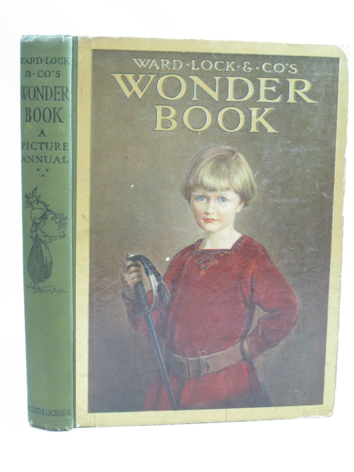 Photo of WARD LOCK & CO'S WONDER BOOK 1924 written by Golding, Harry<br />Herbertson, Agnes Grozier<br />Temple, Chris<br />Pope, Jessie<br />et al, illustrated by Topham, Inez<br />Jones, Grace<br />Tarrant, Margaret<br />Maybank, Thomas<br />et al., published by Ward Lock & Co Ltd. (STOCK CODE: 1506011)  for sale by Stella & Rose's Books