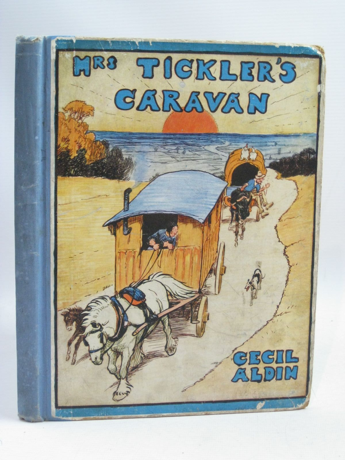 Photo of MRS. TICKLER'S CARAVAN A STORY FOR CHILDREN written by Aldin, Cecil illustrated by Aldin, Cecil published by Eyre & Spottiswoode (STOCK CODE: 1506014)  for sale by Stella & Rose's Books