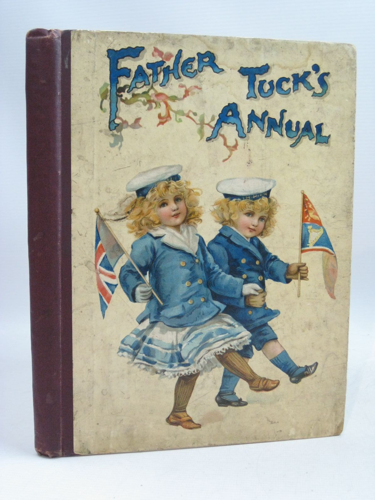 Photo of FATHER TUCK'S ANNUAL FOR 1903 written by Vredenburg, Edric<br />Chesson, Nora<br />Burnside, Helen M.<br />Hoyer, M.A.<br />Floyd, Grace C.<br />et al, illustrated by Wain, Louis<br />Cowham, Hilda<br />Brundage, Frances<br />Bowley, M.<br />et al., published by Raphael Tuck & Sons Ltd. (STOCK CODE: 1506038)  for sale by Stella & Rose's Books