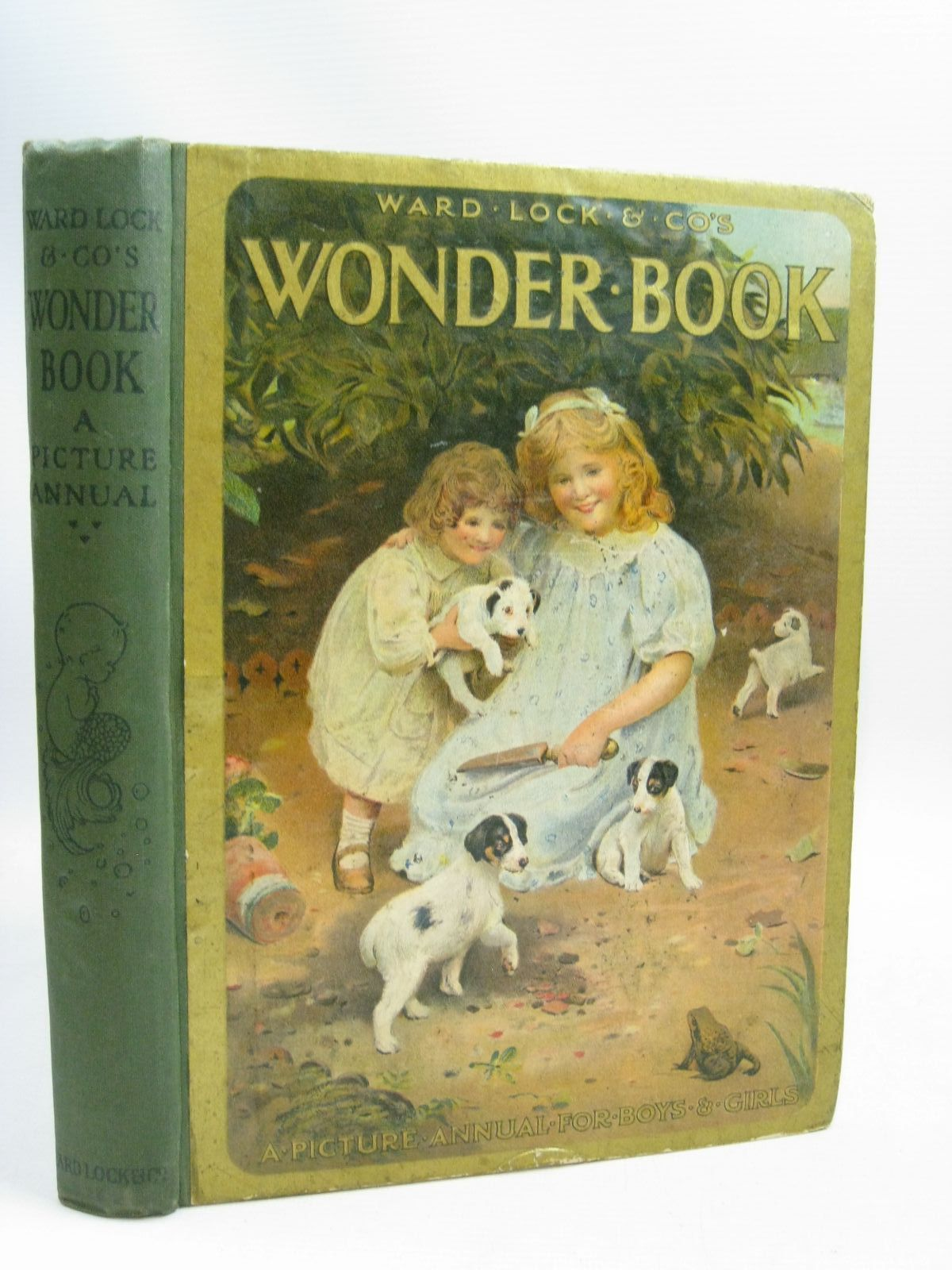 Photo of WARD LOCK &AMP; CO'S WONDER BOOK 1920 written by Golding, Harry<br />Inchfawn, Fay<br />Pope, Jessie<br />Herbertson, Agnes Grozier<br />Leigh, Felix<br />et al, illustrated by Pearse, S.B.<br />Tarrant, Margaret<br />Robinson, Charles<br />Wain, Louis<br />Aris, Ernest A.<br />et al., published by Ward Lock & Co Ltd. (STOCK CODE: 1506046)  for sale by Stella & Rose's Books