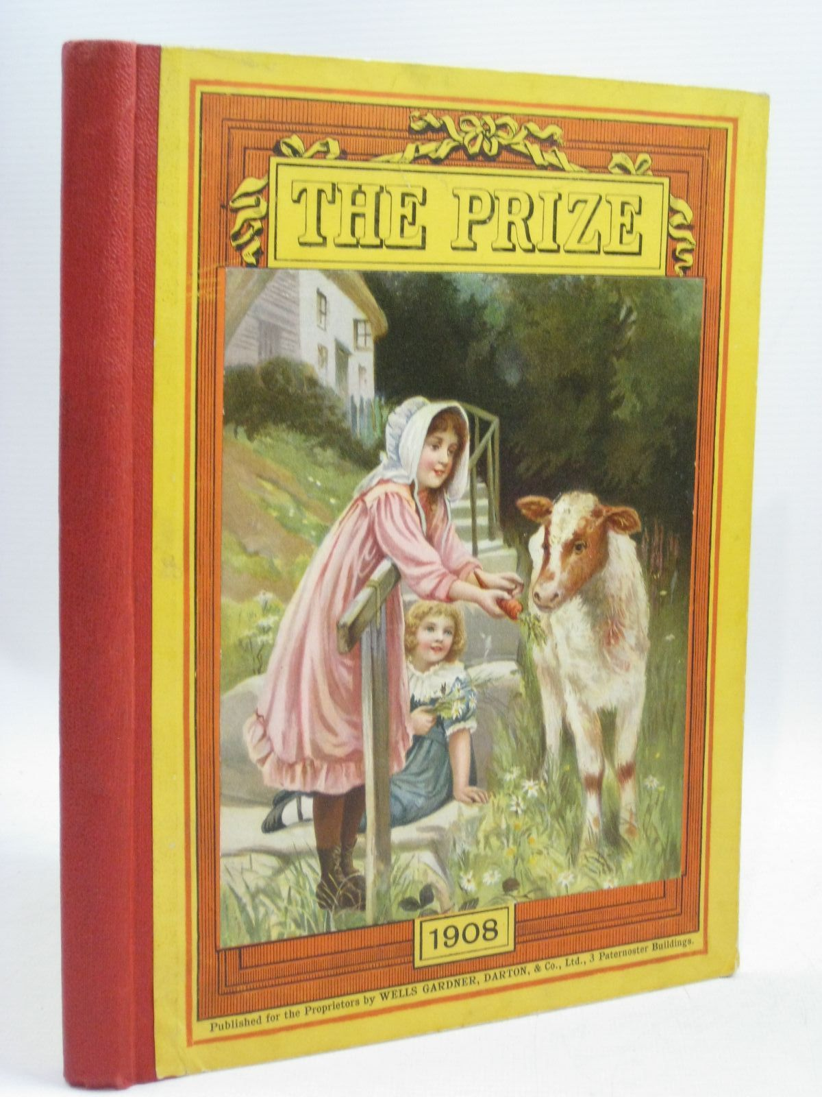 Photo of THE PRIZE FOR GIRLS AND BOYS 1908 published by Wells Gardner, Darton & Co. (STOCK CODE: 1506083)  for sale by Stella & Rose's Books