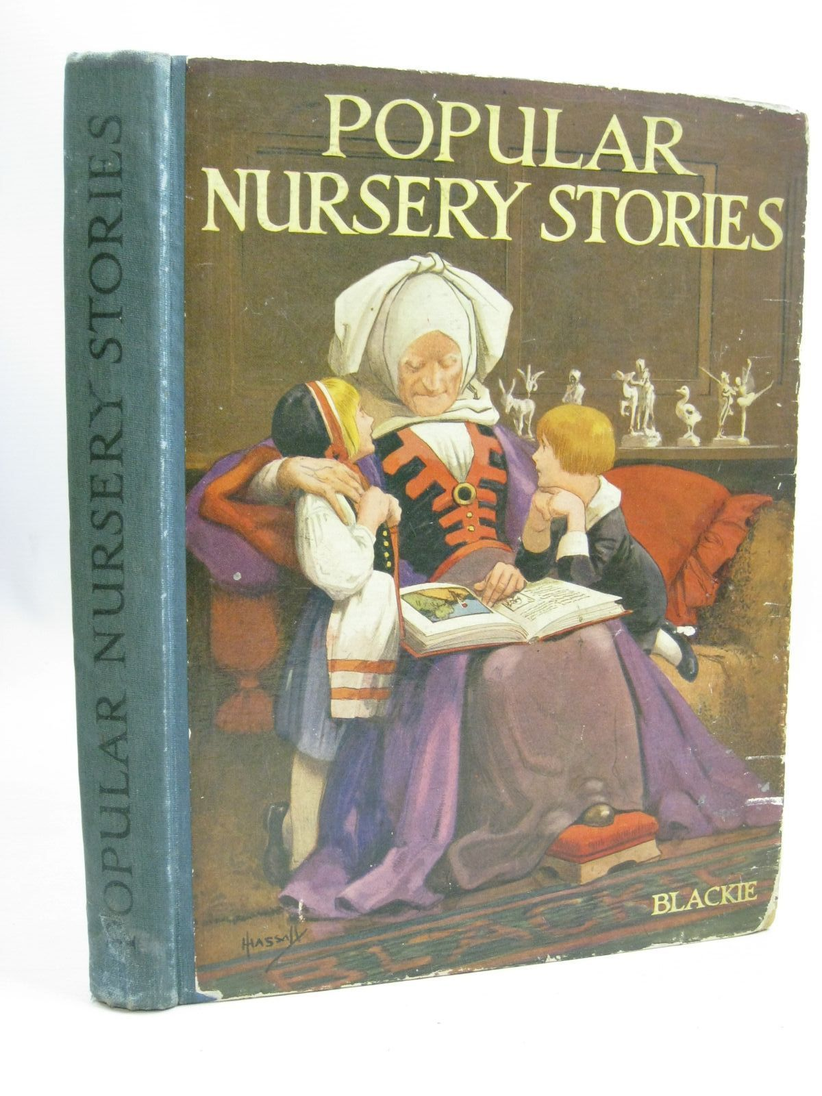 Photo of BLACKIE'S POPULAR NURSERY STORIES illustrated by Hassall, John published by Blackie & Son Ltd. (STOCK CODE: 1506098)  for sale by Stella & Rose's Books