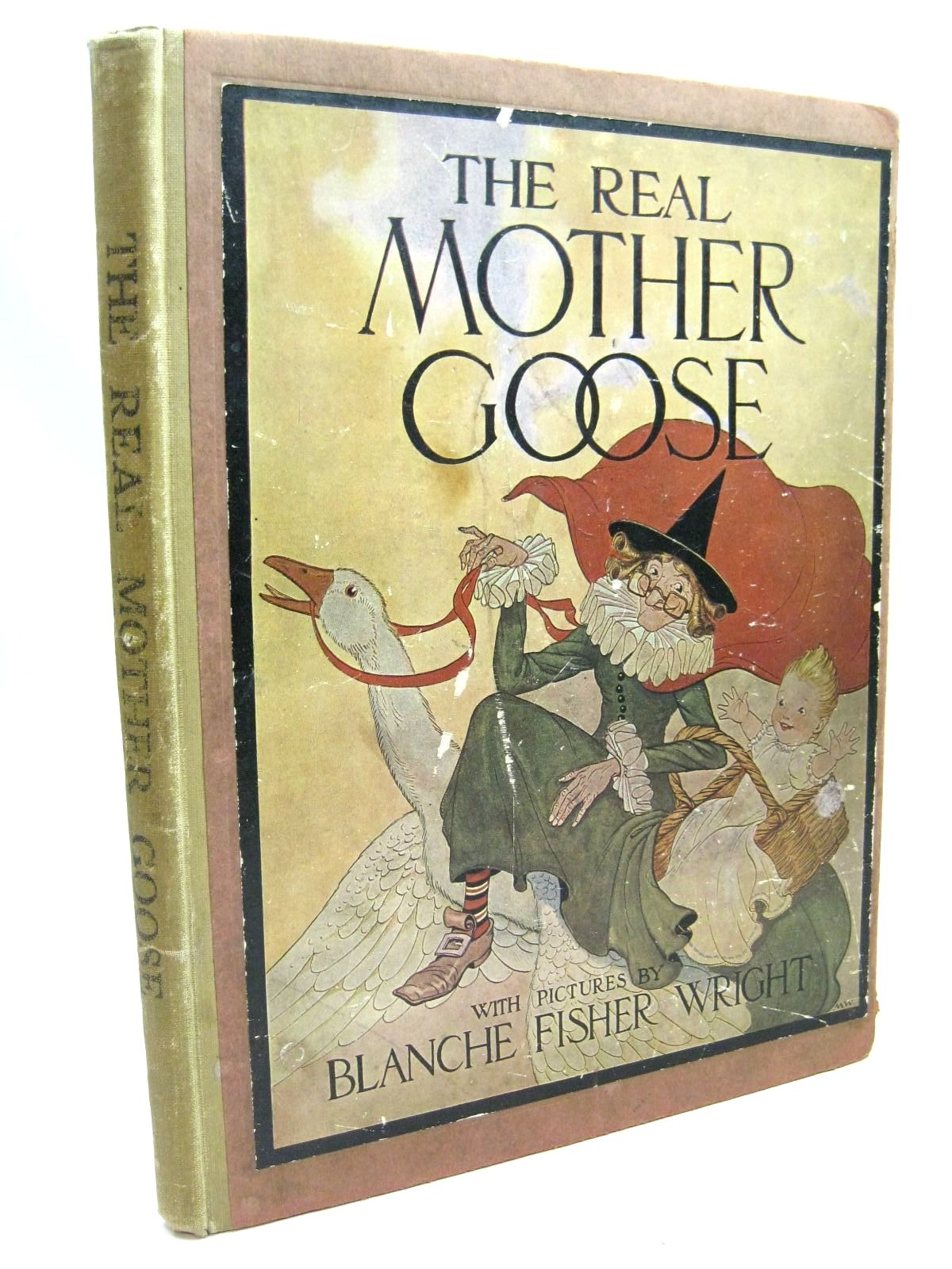 Photo of THE REAL MOTHER GOOSE illustrated by Wright, Blanche Fisher published by George G. Harrap & Company Ltd. (STOCK CODE: 1506165)  for sale by Stella & Rose's Books