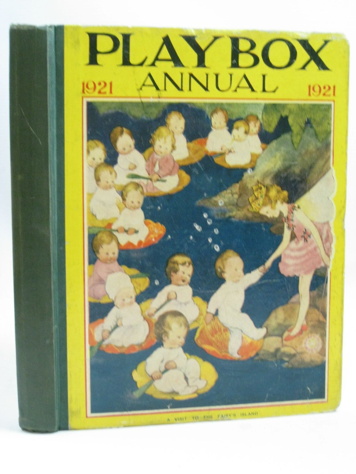 Photo of PLAYBOX ANNUAL 1921 illustrated by Jackson, A.E.<br />Robinson, W. Heath<br />Wain, Louis<br />et al.,  published by The Amalgamated Press (STOCK CODE: 1506175)  for sale by Stella & Rose's Books