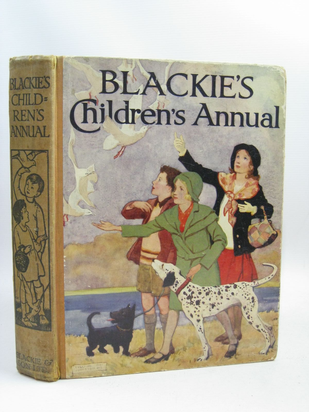 Photo of BLACKIE'S CHILDREN'S ANNUAL 29TH YEAR written by Gray, Sylvester<br />Bull, Rene<br />Millar, H.R.<br />Joan, Natalie<br />et al, illustrated by Rountree, Harry<br />Bull, Rene<br />Hart, Frank<br />Brock, H.M.<br />et al., published by Blackie & Son Ltd. (STOCK CODE: 1506188)  for sale by Stella & Rose's Books