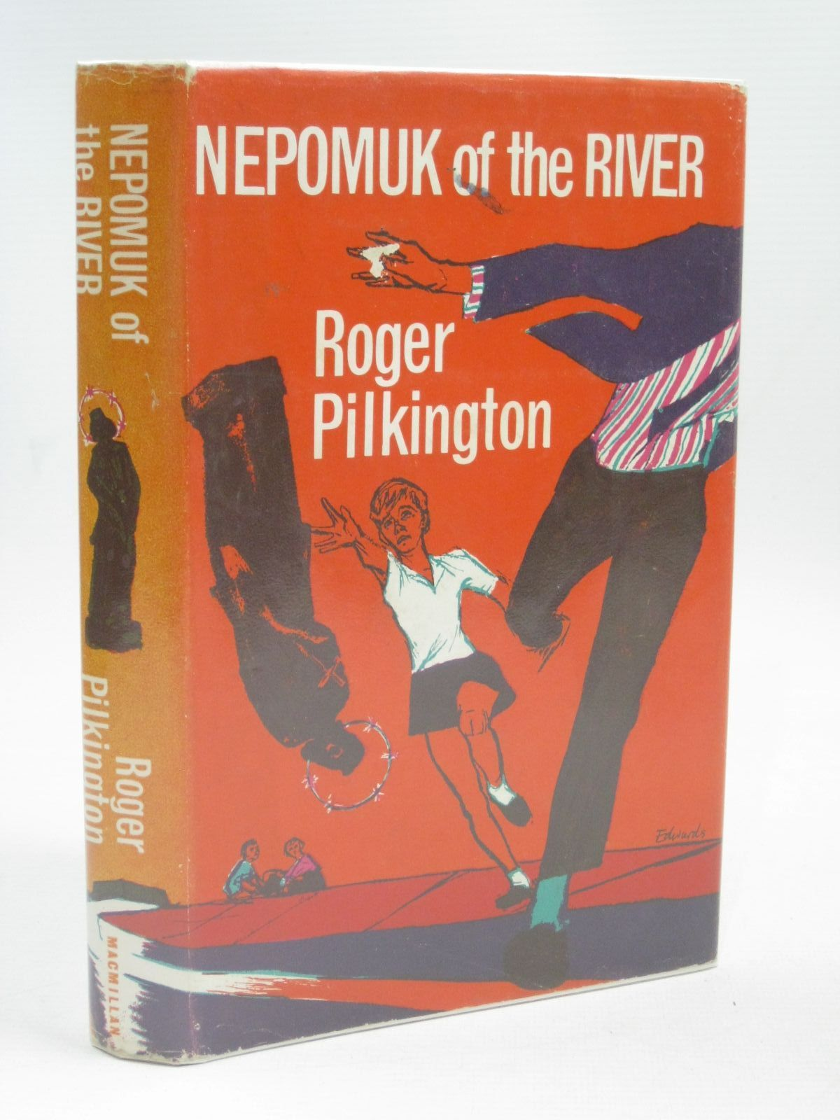 Photo of NEPOMUK OF THE RIVER written by Pilkington, Roger illustrated by Edwards, Peter published by Macmillan & Co. Ltd. (STOCK CODE: 1506210)  for sale by Stella & Rose's Books