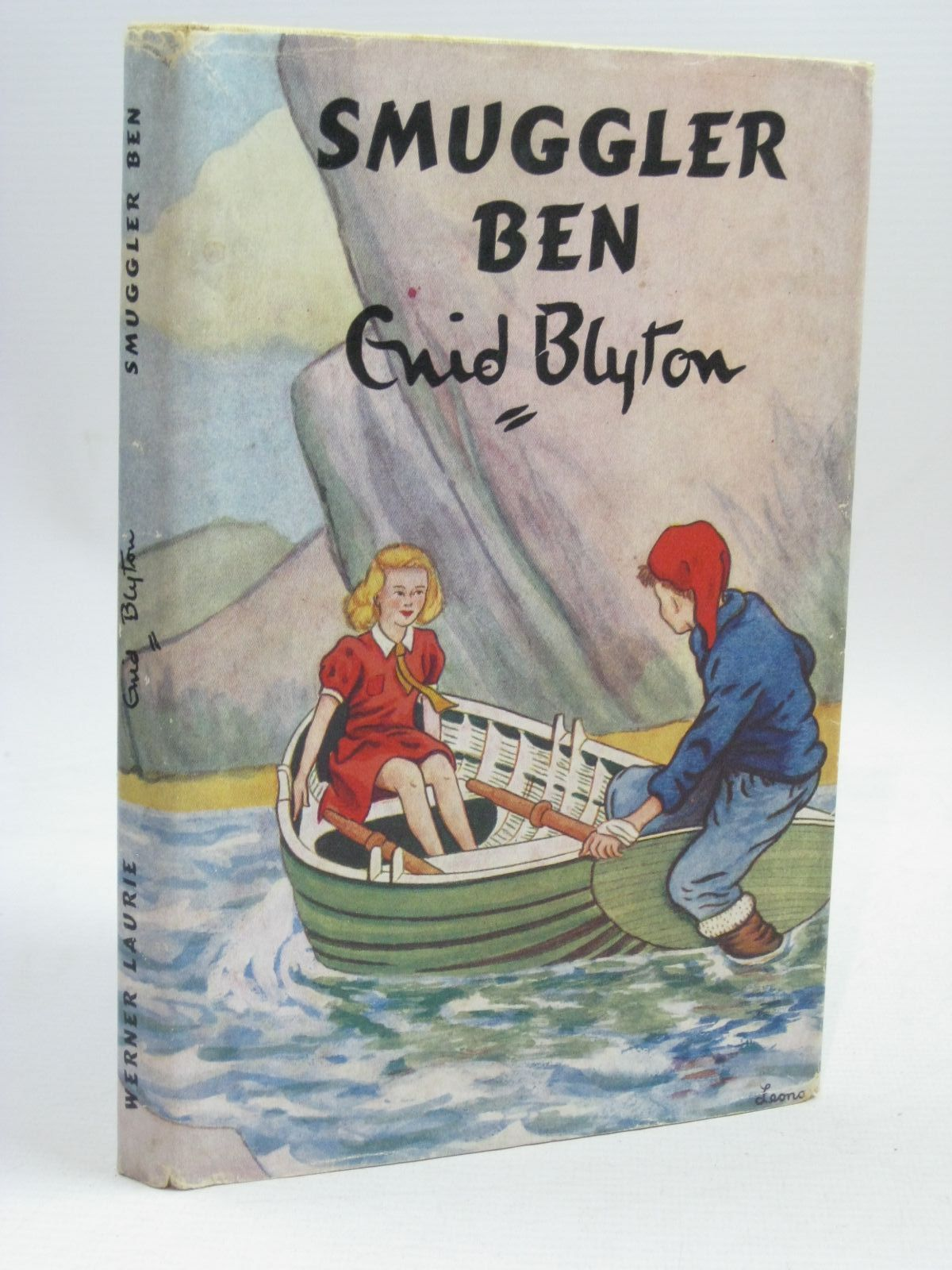 Photo of SMUGGLER BEN written by Blyton, Enid illustrated by Backhouse, G.W. published by Werner Laurie (STOCK CODE: 1506322)  for sale by Stella & Rose's Books