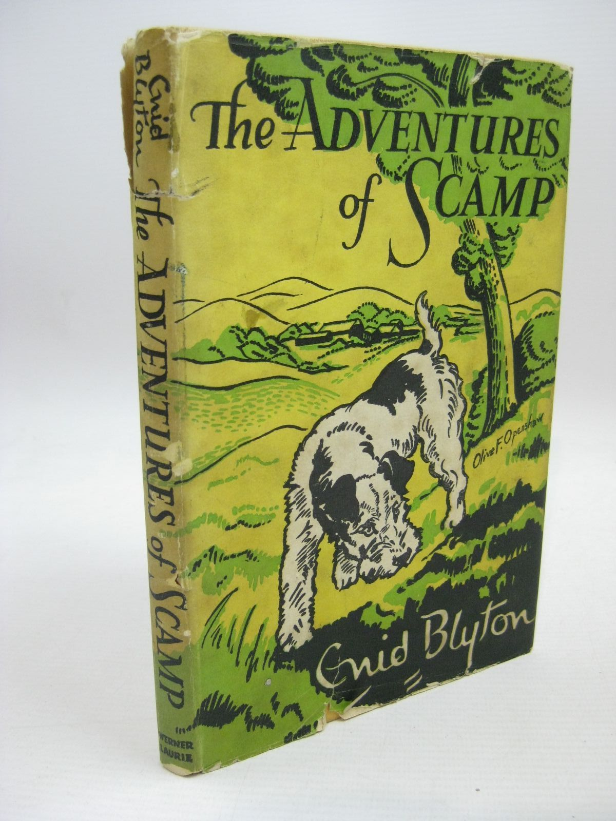 Photo of THE ADVENTURES OF SCAMP written by Blyton, Enid illustrated by Openshaw, Olive F. published by Werner Laurie (STOCK CODE: 1506337)  for sale by Stella & Rose's Books