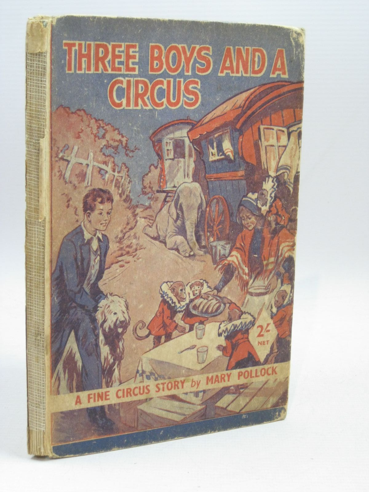 Photo of THREE BOYS AND A CIRCUS written by Pollock, Mary<br />Blyton, Enid published by George Newnes Ltd. (STOCK CODE: 1506345)  for sale by Stella & Rose's Books