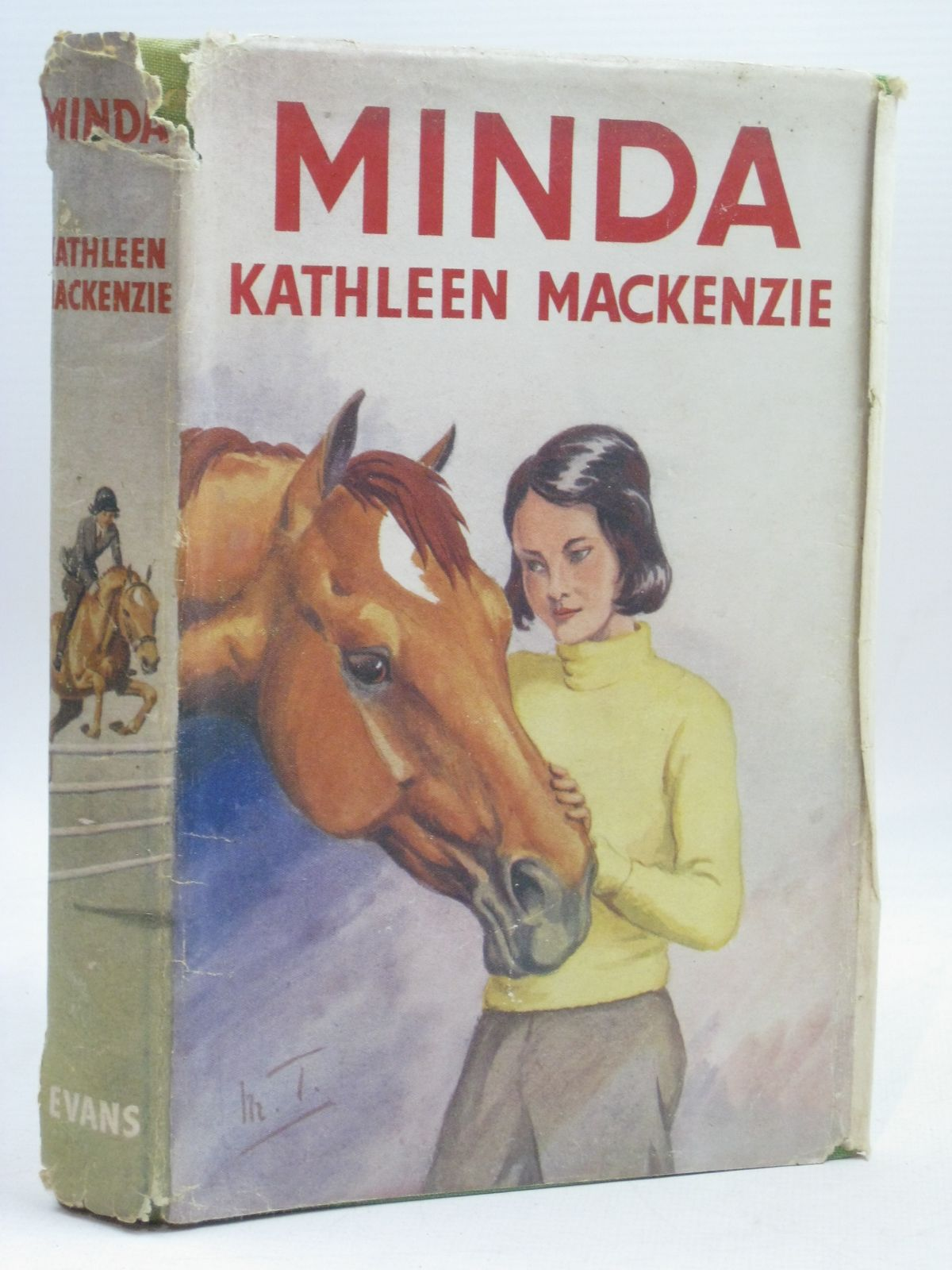Photo of MINDA written by MacKenzie, Kathleen illustrated by Tulloch, Maurice published by Evans Brothers Limited (STOCK CODE: 1506392)  for sale by Stella & Rose's Books