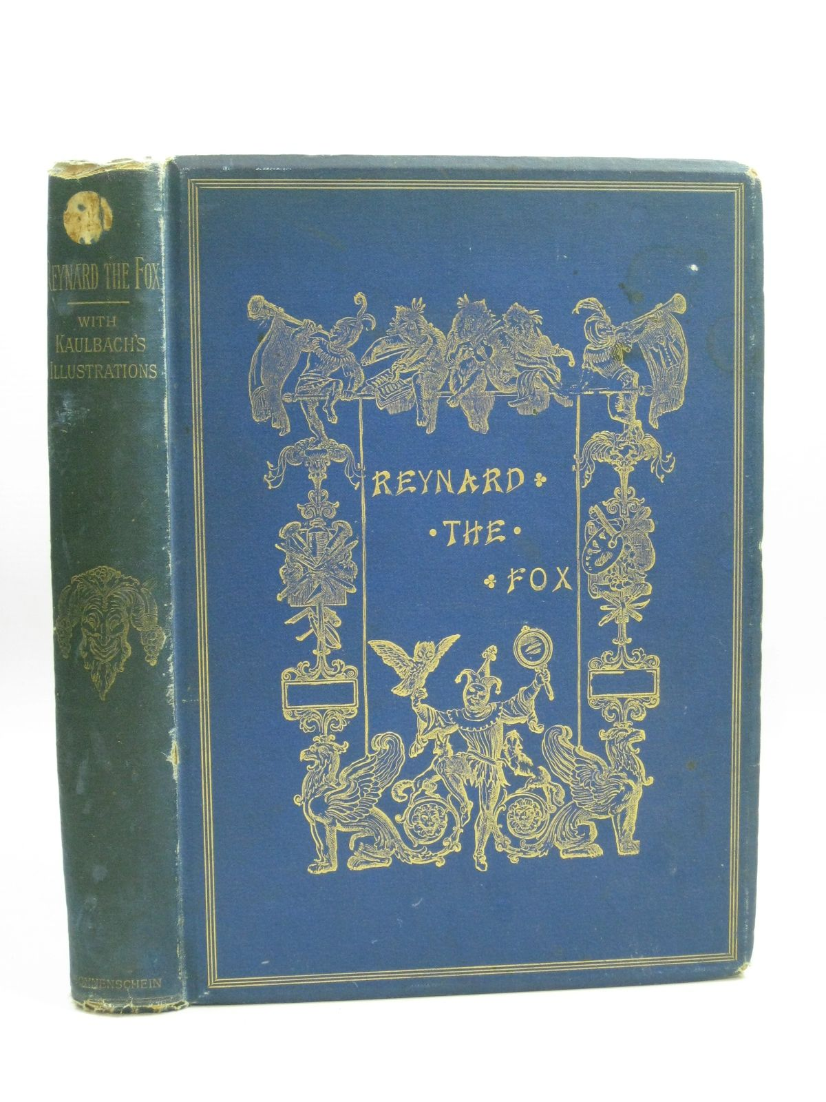 Photo of REYNARD THE FOX written by De Sanctis, Mme. published by W. Swan Sonnenschein & Co. (STOCK CODE: 1506419)  for sale by Stella & Rose's Books