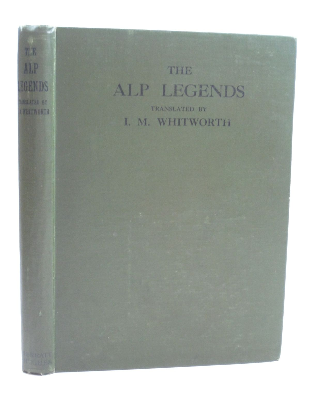 Photo of ALP LEGENDS written by Jegerlehner, Johannes illustrated by Todhunter, M.<br />Munger, Rudolf published by Sherratt & Hughes (STOCK CODE: 1506474)  for sale by Stella & Rose's Books