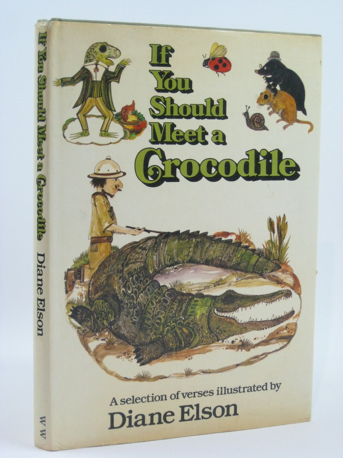 Photo of IF YOU SHOULD MEET A CROCODILE illustrated by Elson, Diane published by World's Work Ltd. (STOCK CODE: 1506517)  for sale by Stella & Rose's Books