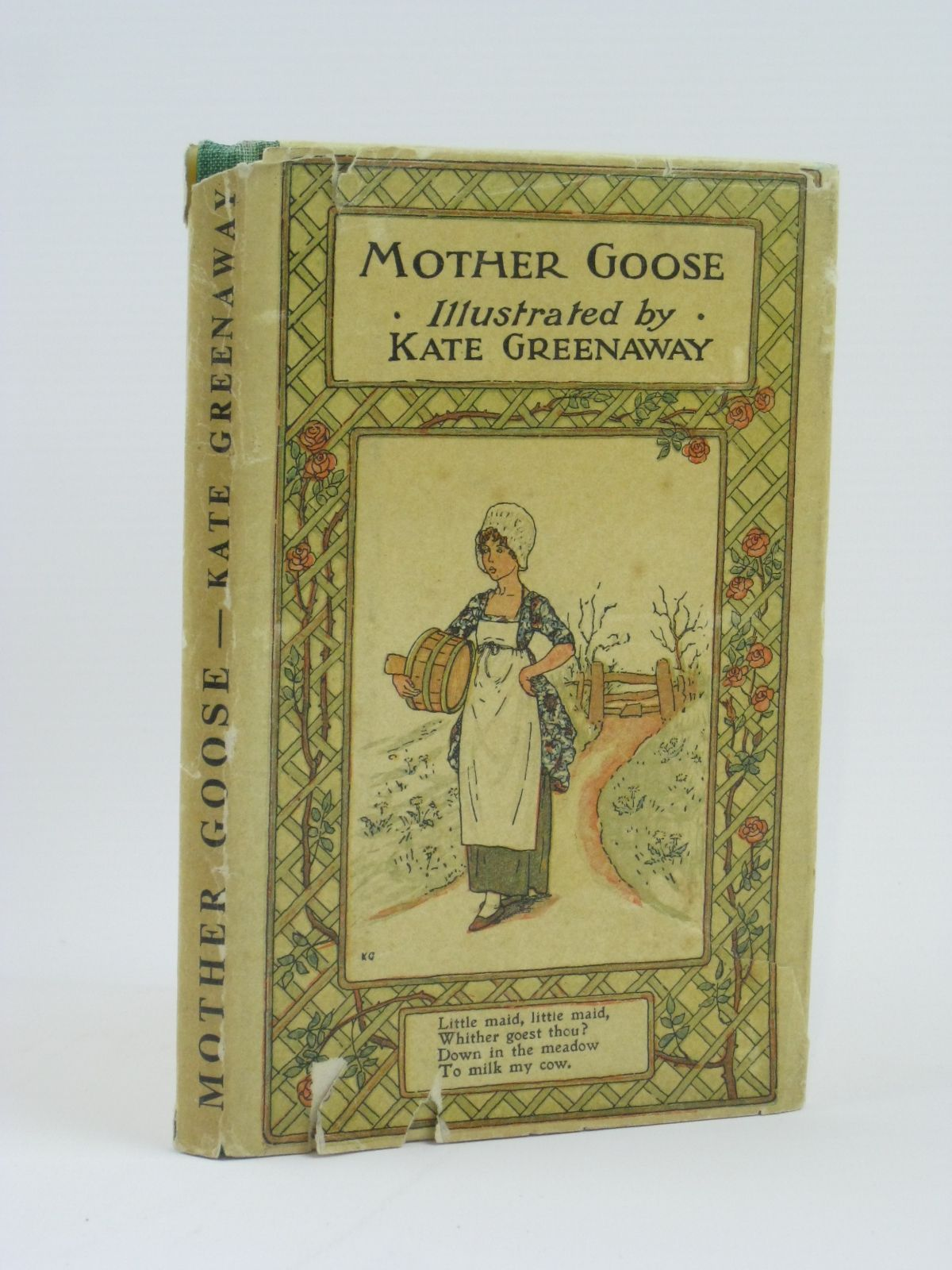 Photo of MOTHER GOOSE OR THE OLD NURSERY RHYMES illustrated by Greenaway, Kate published by Frederick Warne & Co Ltd. (STOCK CODE: 1506525)  for sale by Stella & Rose's Books