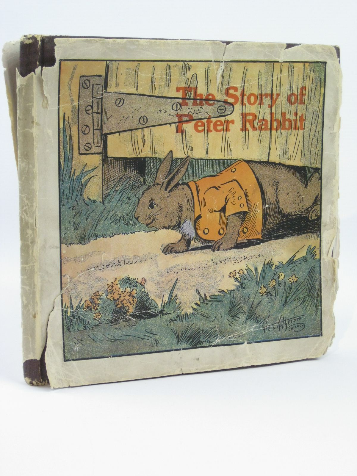 Photo of THE STORY OF PETER RABBIT AND OTHER STORIES written by Potter, Beatrix<br />Wetherbee, F.I. illustrated by Wetherbee, F.I. published by Whitman Publishing Company (STOCK CODE: 1506537)  for sale by Stella & Rose's Books