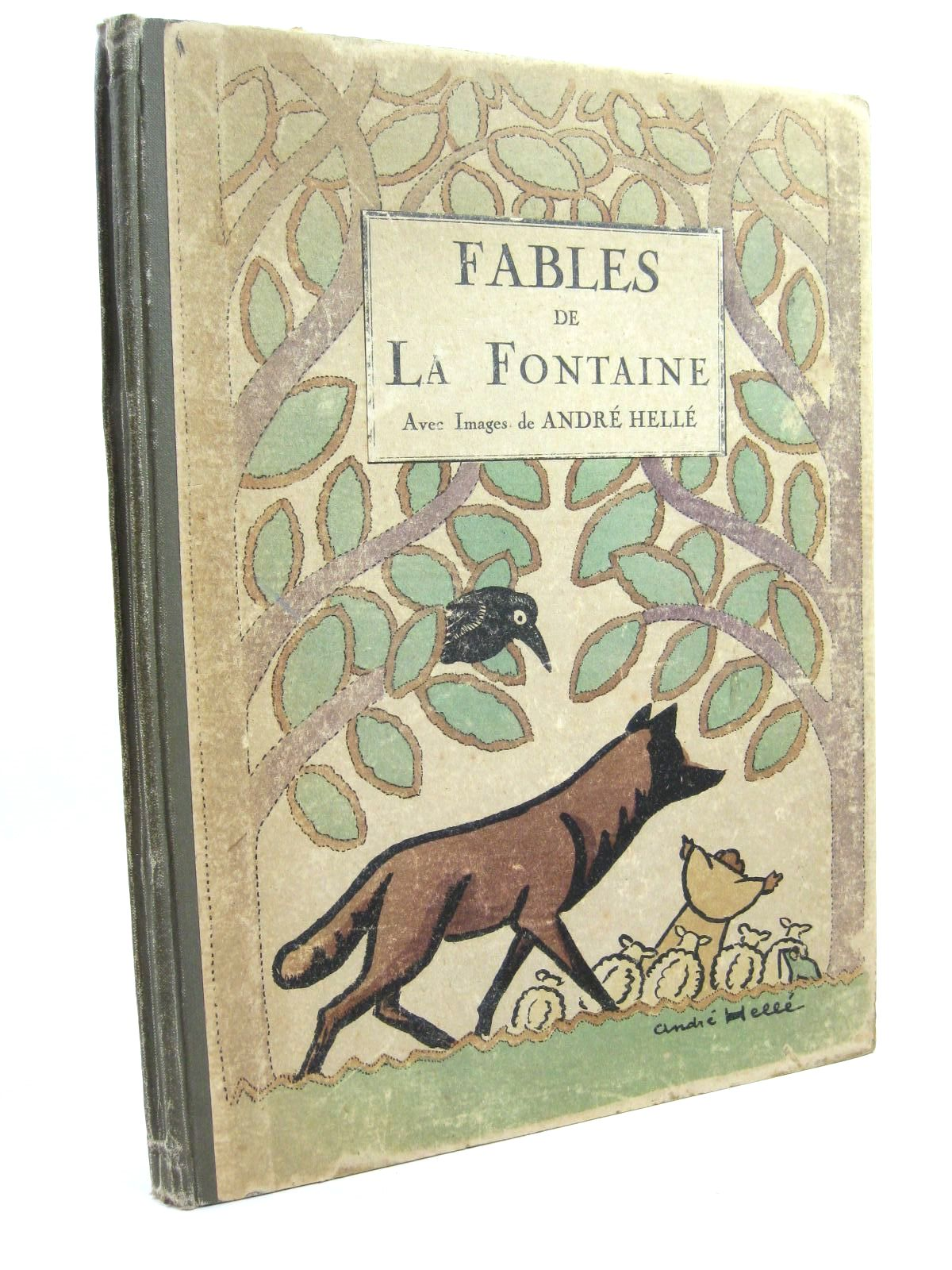 Photo of FABLES DE LA FONTAINE written by De La Fontaine, Jean illustrated by Helle, Andre published by Berger-Levrault (STOCK CODE: 1506656)  for sale by Stella & Rose's Books