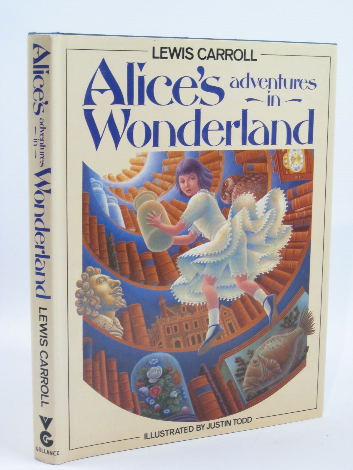 Photo of ALICE'S ADVENTURES IN WONDERLAND written by Carroll, Lewis illustrated by Todd, Justin published by Victor Gollancz Ltd. (STOCK CODE: 1506691)  for sale by Stella & Rose's Books