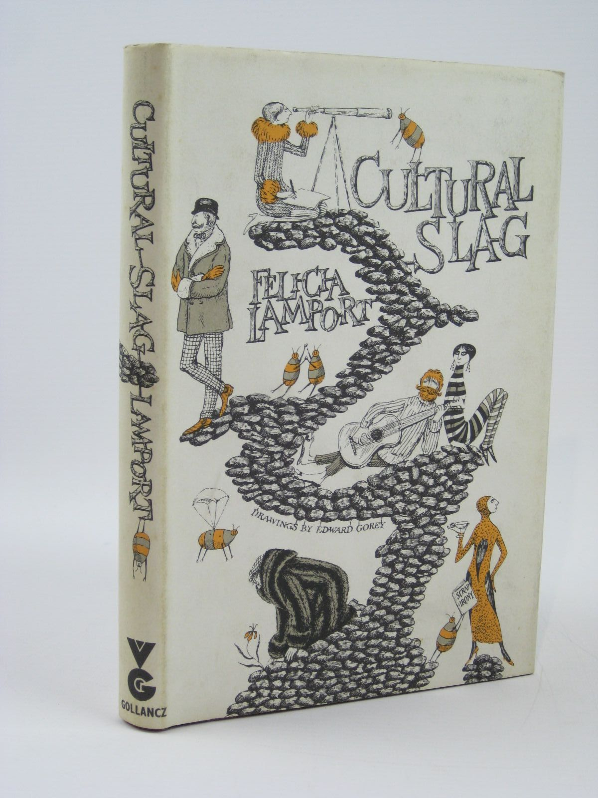 Photo of CULTURAL SLAG written by Gorey, Edward<br />Lamport, Felicia illustrated by Gorey, Edward published by Victor Gollancz Ltd. (STOCK CODE: 1506715)  for sale by Stella & Rose's Books