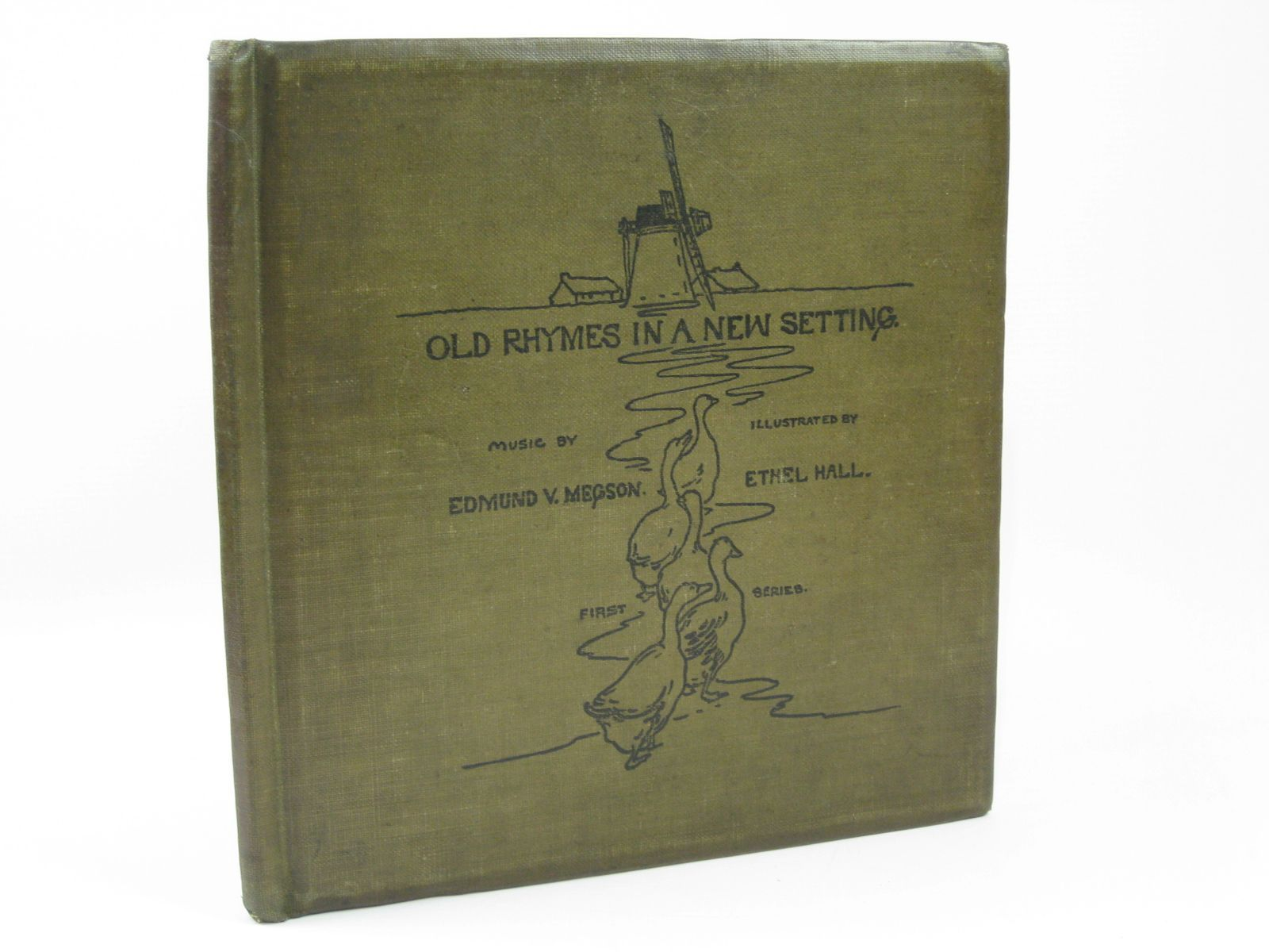 Photo of OLD RHYMES IN A NEW SETTING written by Megson, Edmund V. illustrated by Hall, Ethel (STOCK CODE: 1506728)  for sale by Stella & Rose's Books