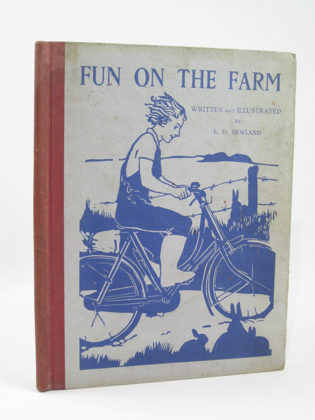 Photo of FUN ON THE FARM written by Hewland, E. Dalton illustrated by Hewland, E. Dalton published by Alexander Moring Ltd. (STOCK CODE: 1506729)  for sale by Stella & Rose's Books