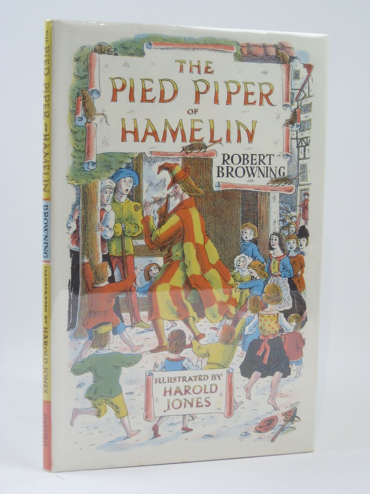 Photo of THE PIED PIPER OF HAMELIN written by Browning, Robert illustrated by Jones, Harold published by Oxford University Press (STOCK CODE: 1506733)  for sale by Stella & Rose's Books