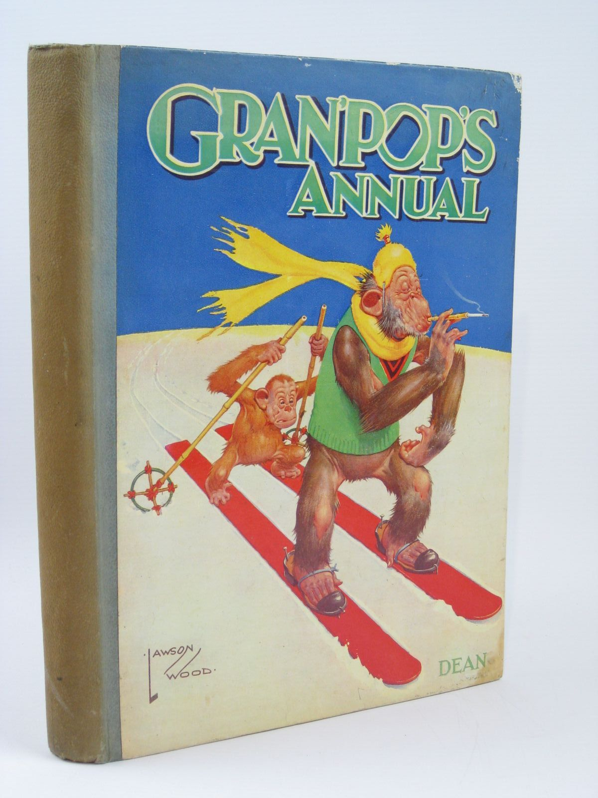 Photo of GRAN'POP'S ANNUAL written by Groom, Arthur illustrated by Wood, Lawson published by Dean & Son Ltd. (STOCK CODE: 1506736)  for sale by Stella & Rose's Books