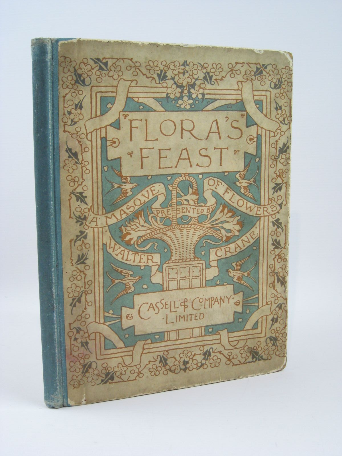 Photo of FLORA'S FEAST A MASQUE OF FLOWERS written by Crane, Walter illustrated by Crane, Walter published by Cassell & Company Limited (STOCK CODE: 1506741)  for sale by Stella & Rose's Books