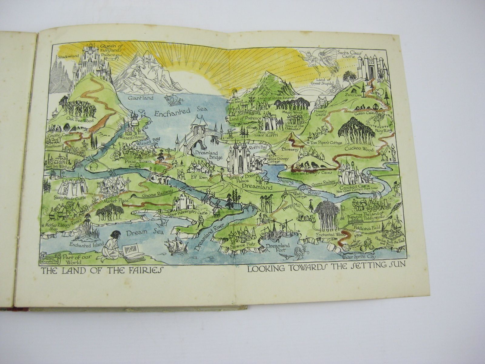 Photo of THE ENID BLYTON BOOK OF FAIRIES written by Blyton, Enid illustrated by Knowles, Horace J.<br />Onslow, Lola published by George Newnes Limited (STOCK CODE: 1506801)  for sale by Stella & Rose's Books