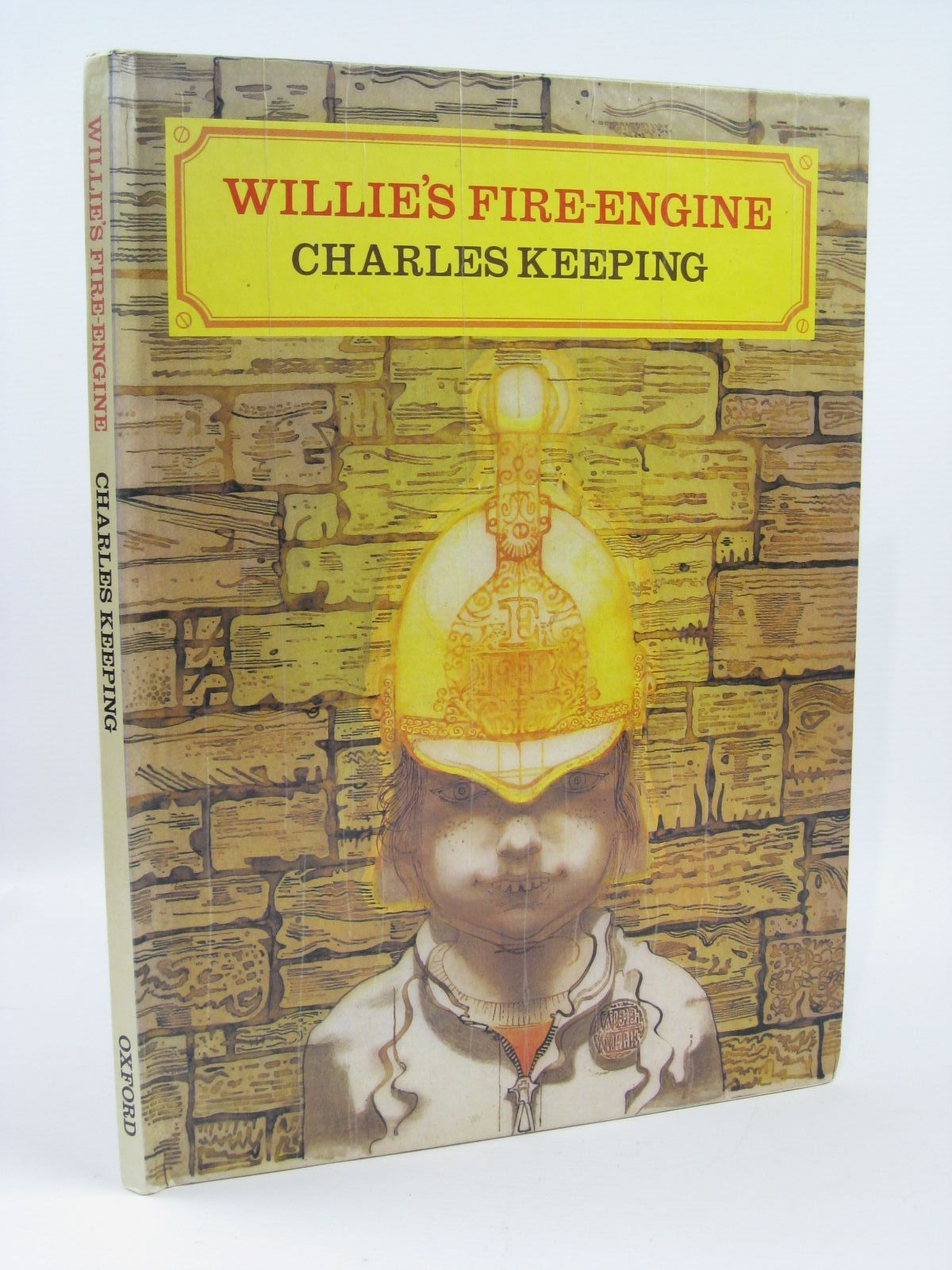 Photo of WILLIE'S FIRE-ENGINE written by Keeping, Charles illustrated by Keeping, Charles published by Oxford University Press (STOCK CODE: 1506804)  for sale by Stella & Rose's Books