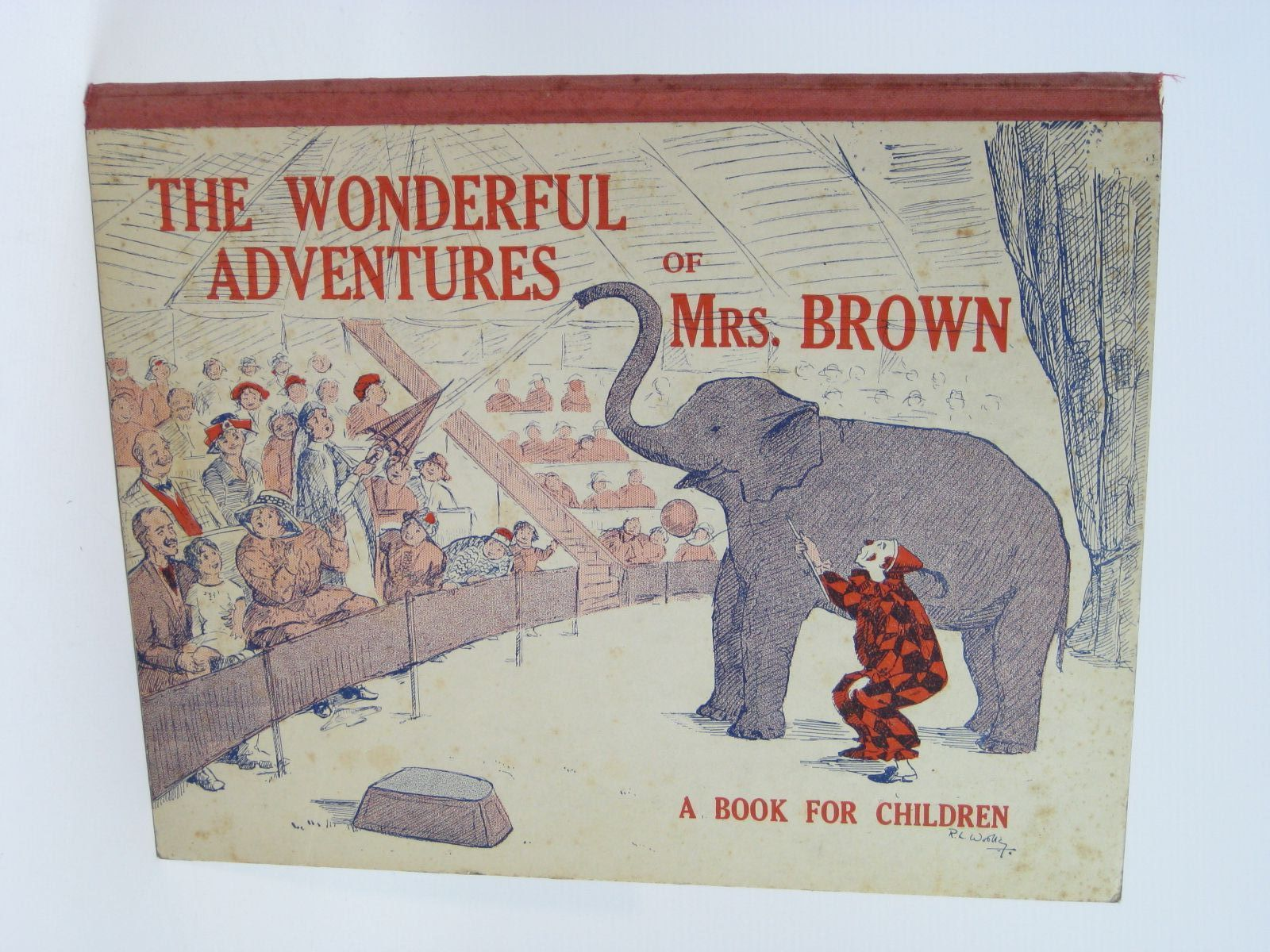 Photo of THE WONDERFUL ADVENTURES OF MRS. BROWN illustrated by Woolley, R.L. published by Camps & Tours Union (STOCK CODE: 1506848)  for sale by Stella & Rose's Books