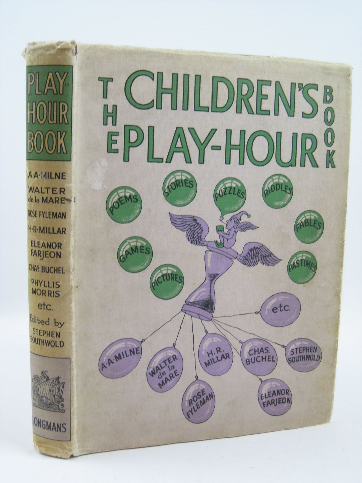Photo of THE CHILDREN'S PLAY-HOUR BOOK written by Southwold, Stephen<br />Fyleman, Rose<br />Milne, A.A.<br />Andersen, Hans Christian<br />Aesop,<br />et al, illustrated by Anderson, Anne<br />Mercer, Joyce<br />et al., published by Longmans, Green & Co. (STOCK CODE: 1506874)  for sale by Stella & Rose's Books