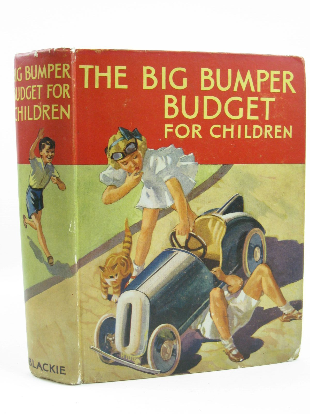 Photo of THE BIG BUMPER BUDGET FOR CHILDREN written by Roberts, Doris M.<br />Gould, Elizabeth<br />Hunter, Norman<br />Herbertson, Agnes Grozier<br />Brazil, Angela<br />et al, illustrated by Hassall, John<br />Leech, Geo. W.<br />Roberts, Lunt<br />et al., published by Blackie And Son Limited (STOCK CODE: 1506884)  for sale by Stella & Rose's Books