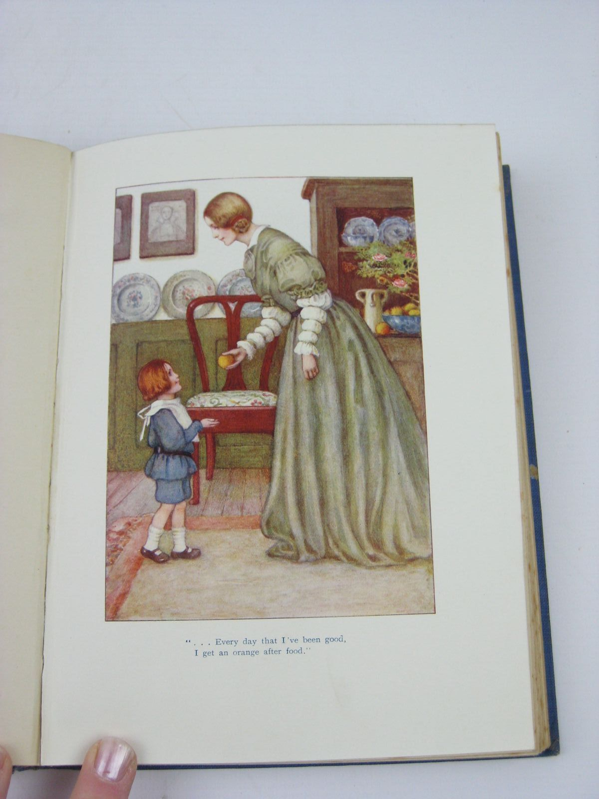 Photo of A CHILD'S GARDEN OF VERSES written by Stevenson, Robert Louis illustrated by Sowerby, Millicent published by Chatto & Windus (STOCK CODE: 1506917)  for sale by Stella & Rose's Books