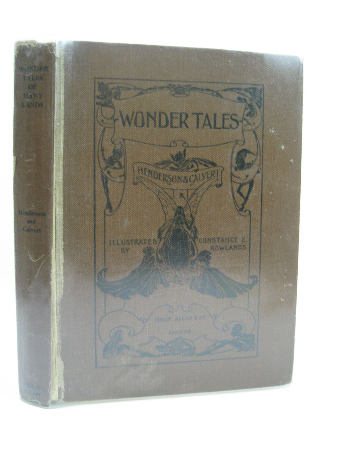 Photo of WONDER TALES OF MANY LANDS written by Henderson, Bernard<br />Calvert, C. illustrated by Rowlands, Constance E. published by Philip Allan & Co. (STOCK CODE: 1507022)  for sale by Stella & Rose's Books
