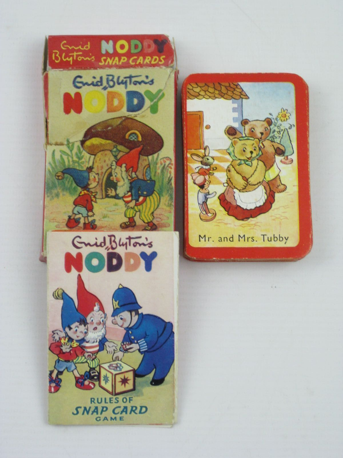 Photo of ENID BLYTON'S NODDY SNAP CARDS written by Blyton, Enid published by Sampson Low (STOCK CODE: 1507139)  for sale by Stella & Rose's Books