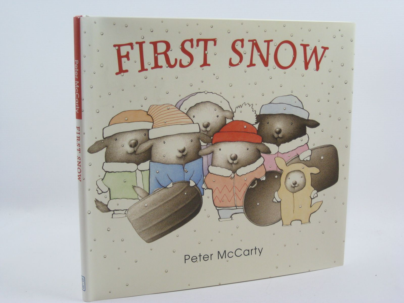 Photo of FIRST SNOW written by McCarty, Peter illustrated by McCarty, Peter published by Balzer And Bray (STOCK CODE: 1507162)  for sale by Stella & Rose's Books