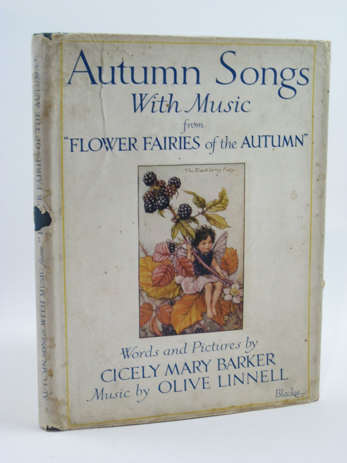 Photo of AUTUMN SONGS WITH MUSIC written by Barker, Cicely Mary<br />Linnell, Olive illustrated by Barker, Cicely Mary published by Blackie & Son Ltd. (STOCK CODE: 1507198)  for sale by Stella & Rose's Books