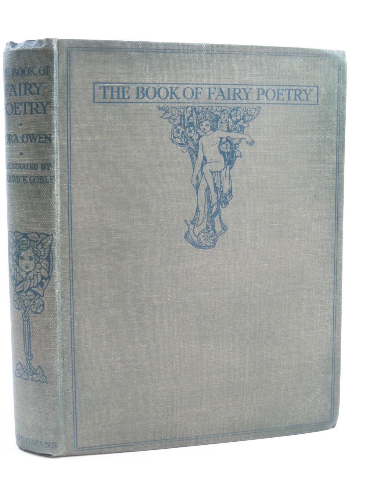 Photo of THE BOOK OF FAIRY POETRY written by Owen, Dora illustrated by Goble, Warwick published by Longmans, Green & Co. (STOCK CODE: 1507205)  for sale by Stella & Rose's Books