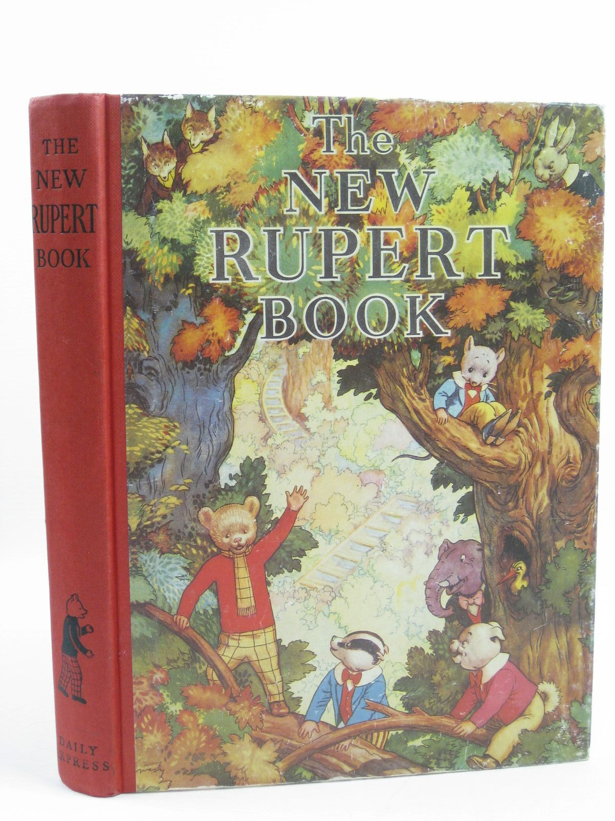 Photo of RUPERT ANNUAL 1938 (FACSIMILE) - THE NEW RUPERT BOOK written by Bestall, Alfred illustrated by Bestall, Alfred published by Daily Express (STOCK CODE: 1507213)  for sale by Stella & Rose's Books