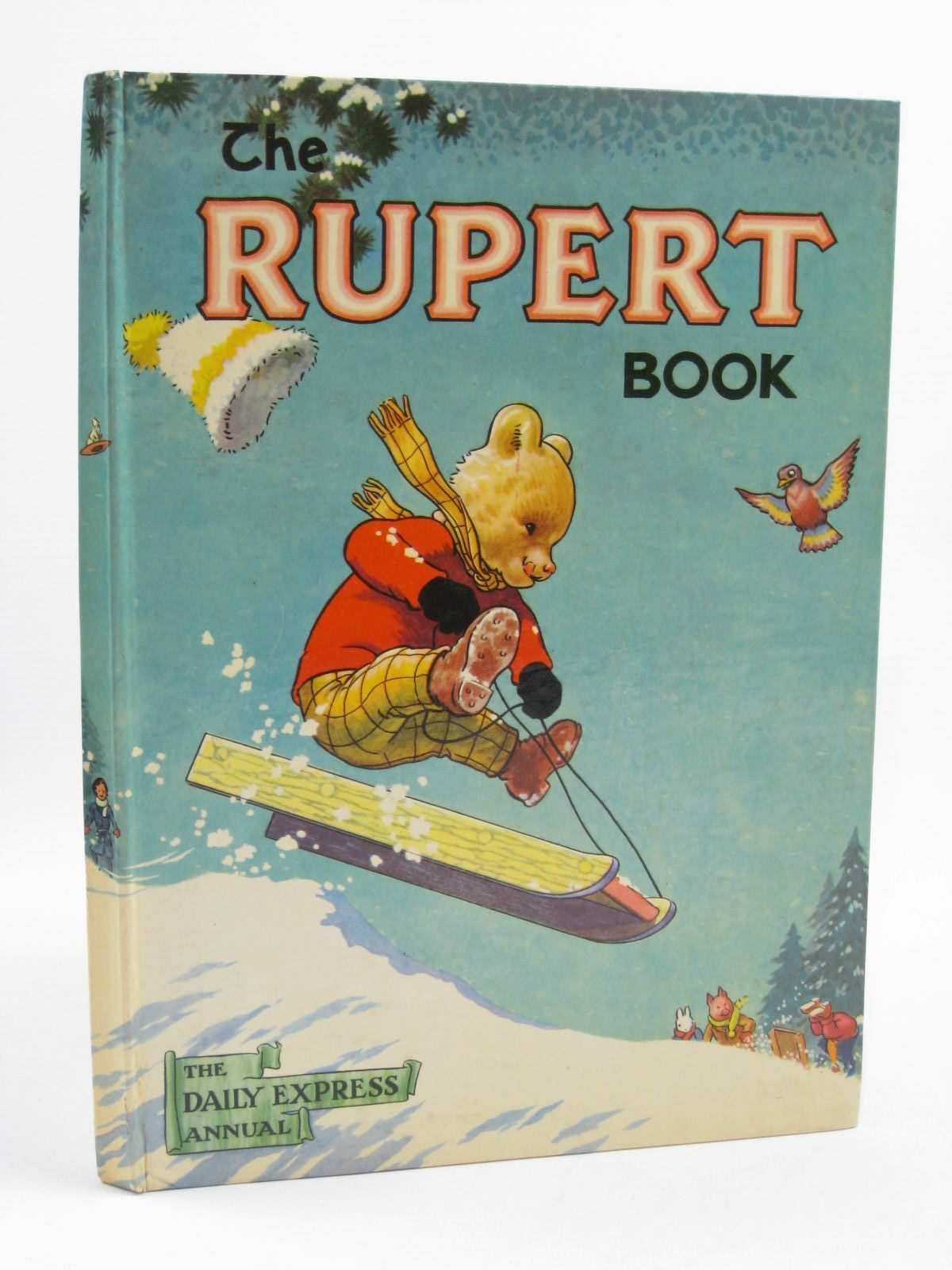 Photo of RUPERT ANNUAL 1956 - THE RUPERT BOOK written by Bestall, Alfred illustrated by Bestall, Alfred published by Oldbourne Book Co. Ltd. (STOCK CODE: 1507262)  for sale by Stella & Rose's Books