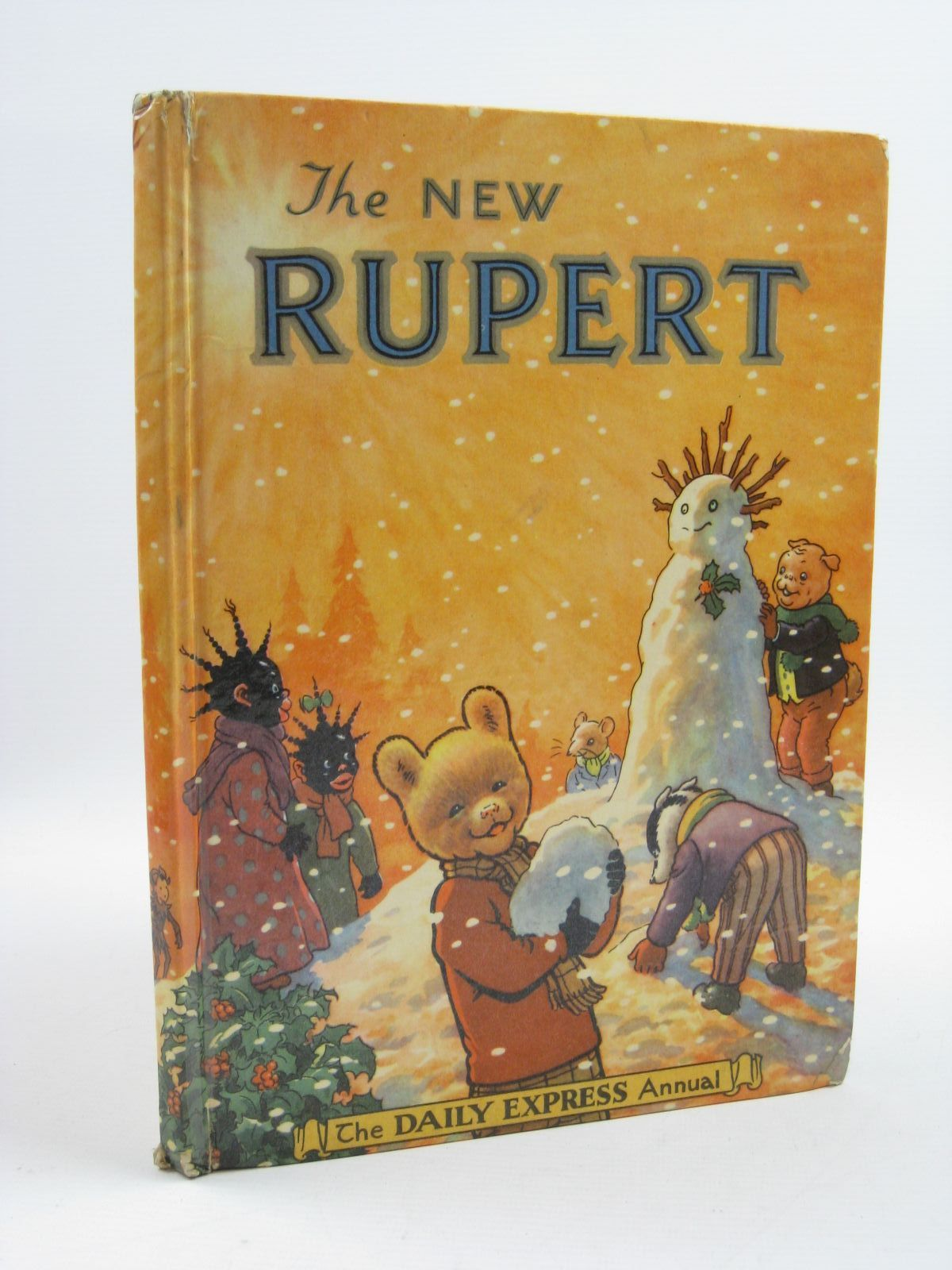 Photo of RUPERT ANNUAL 1954 - THE NEW RUPERT written by Bestall, Alfred illustrated by Bestall, Alfred published by Daily Express (STOCK CODE: 1507263)  for sale by Stella & Rose's Books
