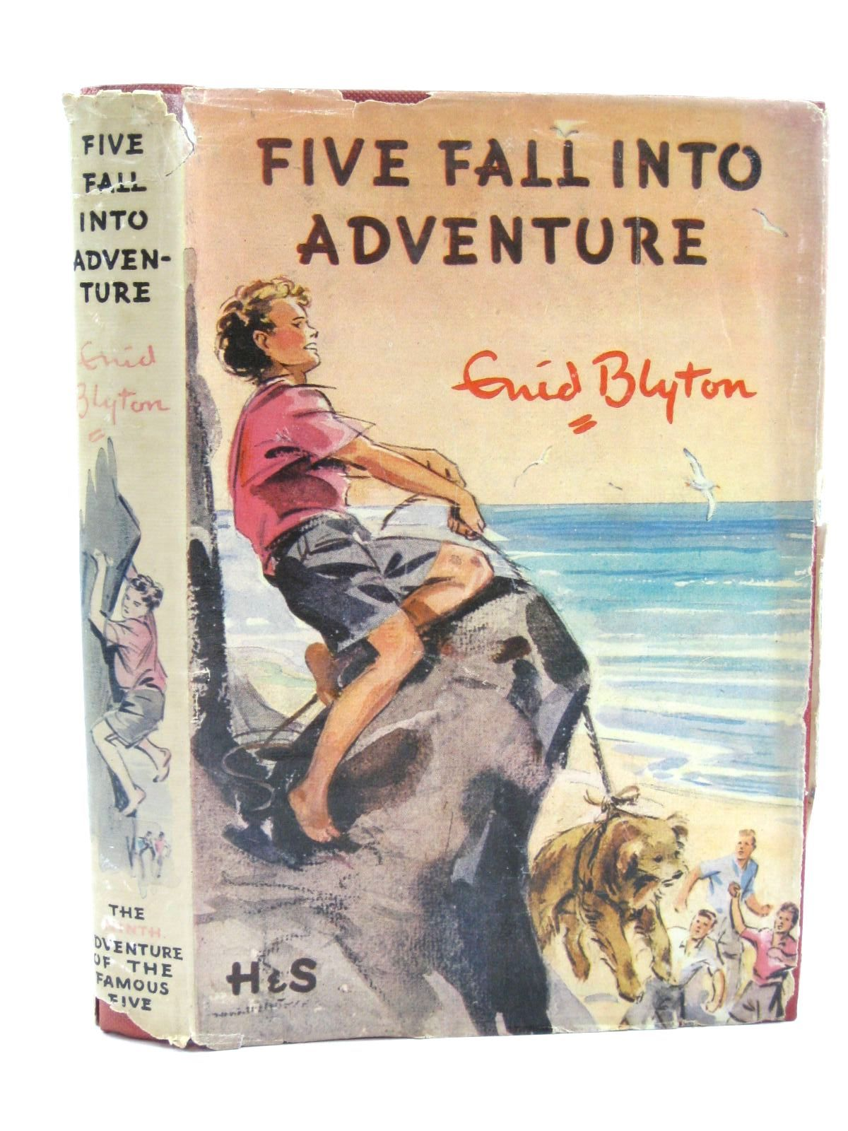 Photo of FIVE FALL INTO ADVENTURE written by Blyton, Enid illustrated by Soper, Eileen published by Hodder & Stoughton (STOCK CODE: 1507303)  for sale by Stella & Rose's Books