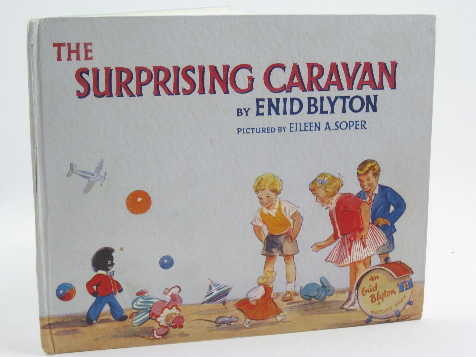 Photo of THE SURPRISING CARAVAN written by Blyton, Enid illustrated by Soper, Eileen published by The Brockhampton Press Ltd. (STOCK CODE: 1507409)  for sale by Stella & Rose's Books